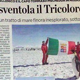 Antartico sventola tricolore spezzino